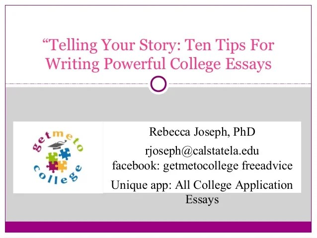 tips to writing a good college essay - Goalgoodwinmetals - tips on writing a college essay