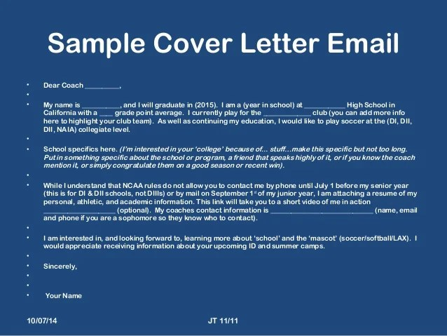 5 Ways To Write A Cover Letter Wikihow 2014 St Marys Presentation 1