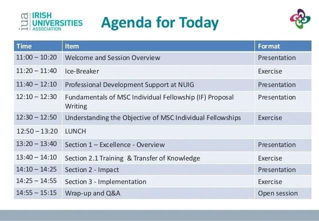 sample workshop agenda template - Romeolandinez