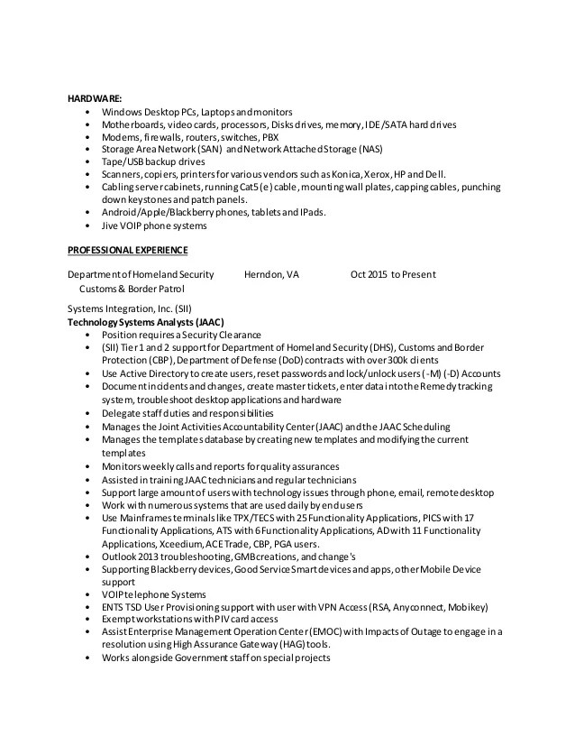 border patrol resume - Tomadaretodonate - cbp marine interdiction agent sample resume