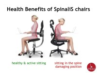 SpinaliS Chairs for Active Sitting