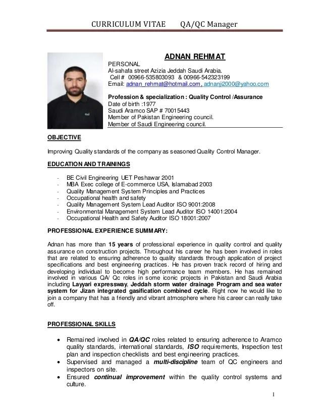 qa tester resume with telecom experience