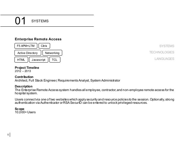 citrix netscaler sample resume