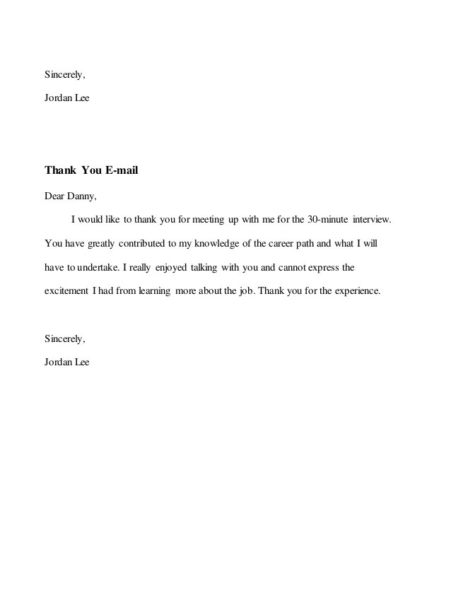 letter requesting informational interview - Josemulinohouse