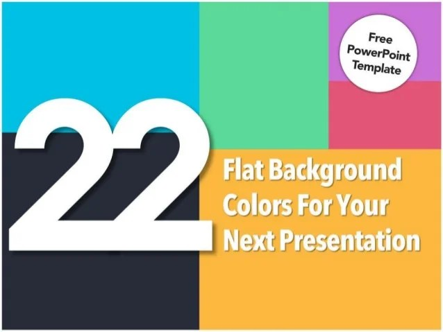 The Yellow Wallpaper Analysis Quotes 22 Flat Background Colors For Your Presentation Free