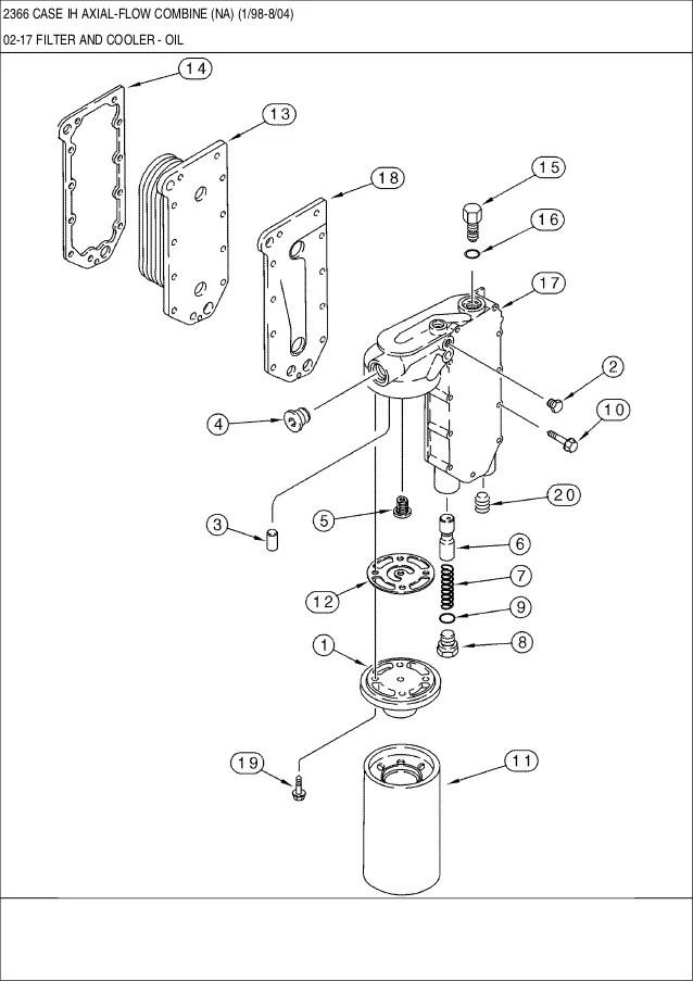 case 1660 combine wiring diagram