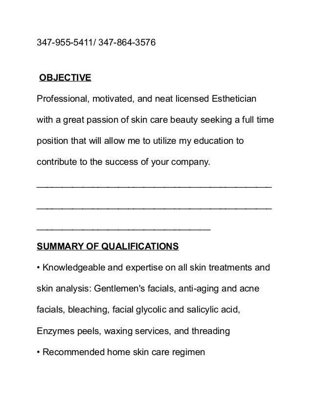 artist resume objective - Roho4senses - good objectives for resumes