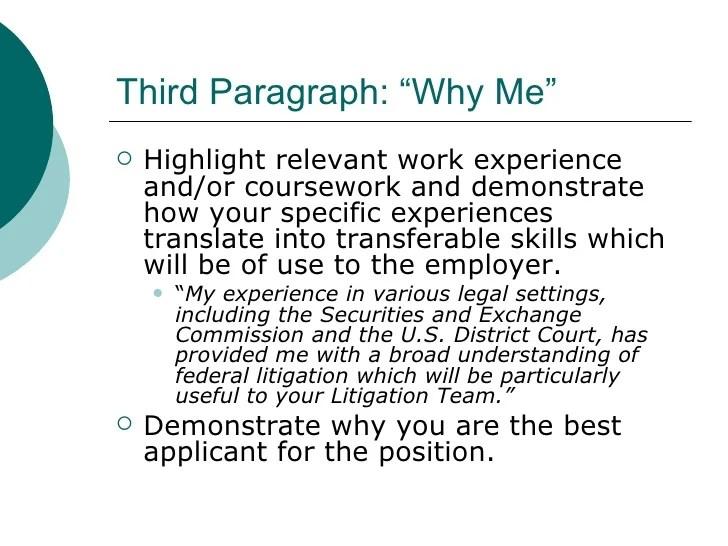 resume cover letter basics