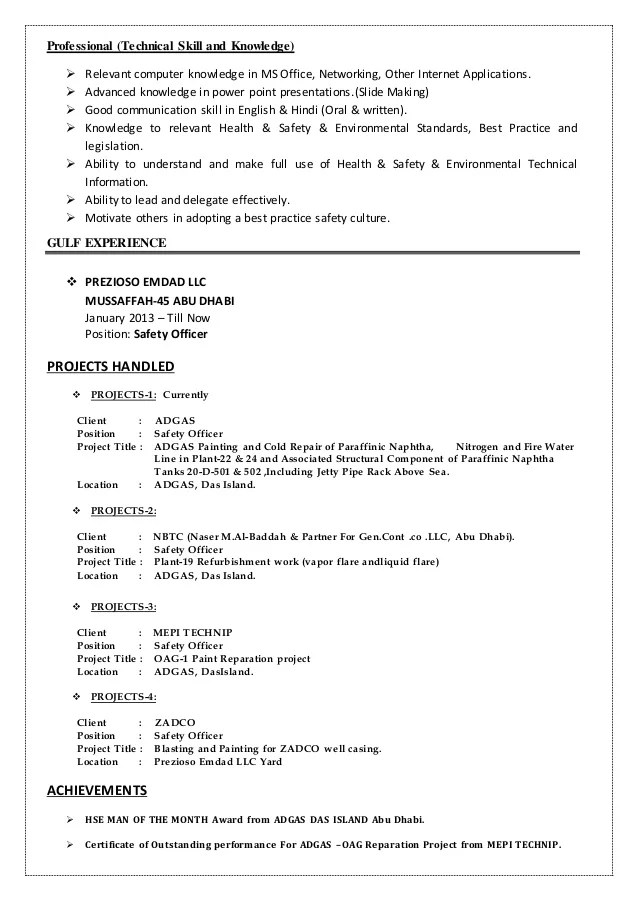 cv in english technical lead