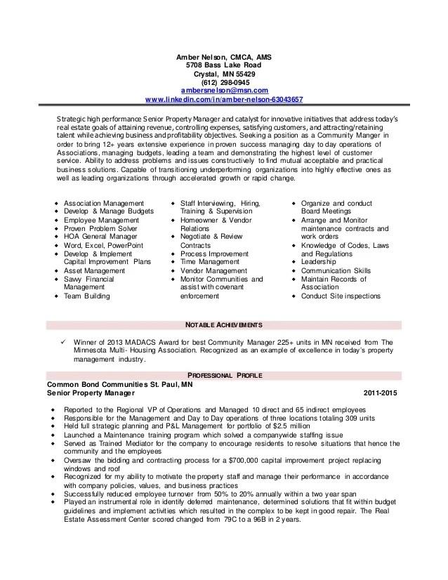 association manager resume - Goalgoodwinmetals