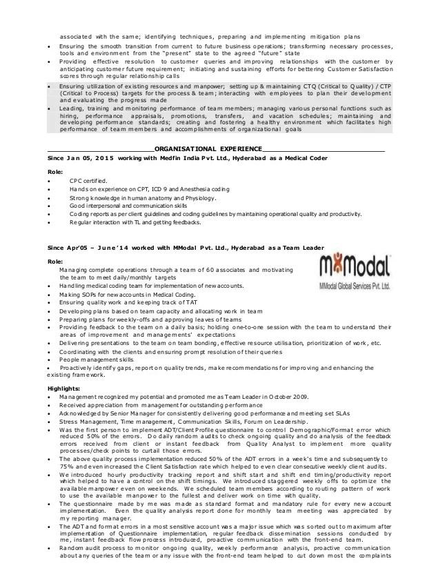 resume medical coder - Intoanysearch - medical coder resume