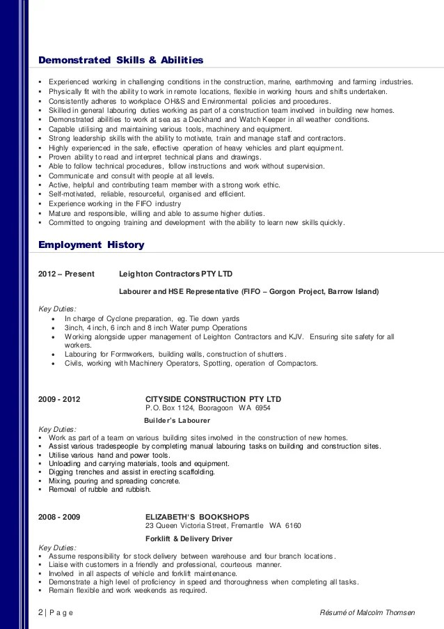 demonstrated skills and abilities examples - Alannoscrapleftbehind - skills and abilities examples for resume