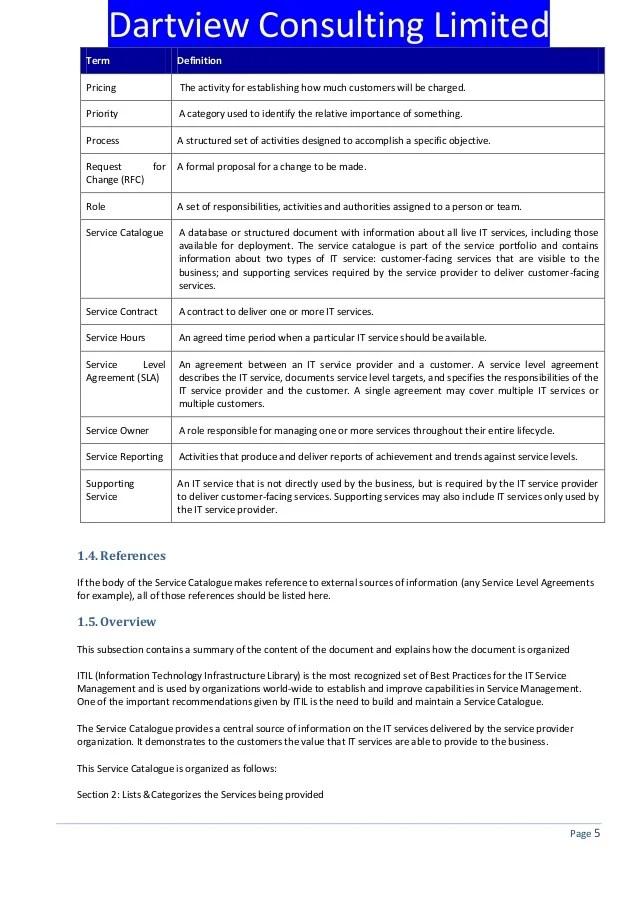 service catalog template word - Akbagreenw