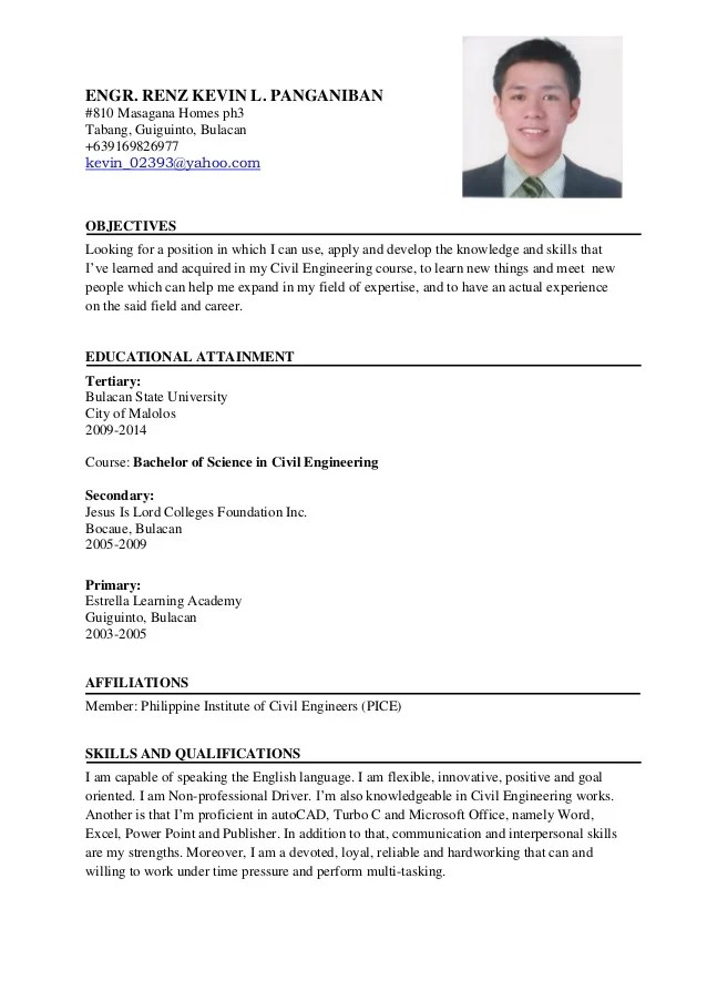 Resume Sample For Ojt Civil Engineering Resume Ixiplay Free Resume - civil engineer sample resume