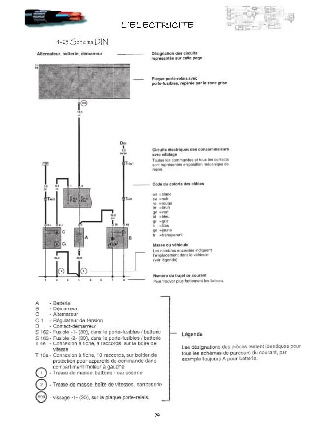 moto 4 schema cablage