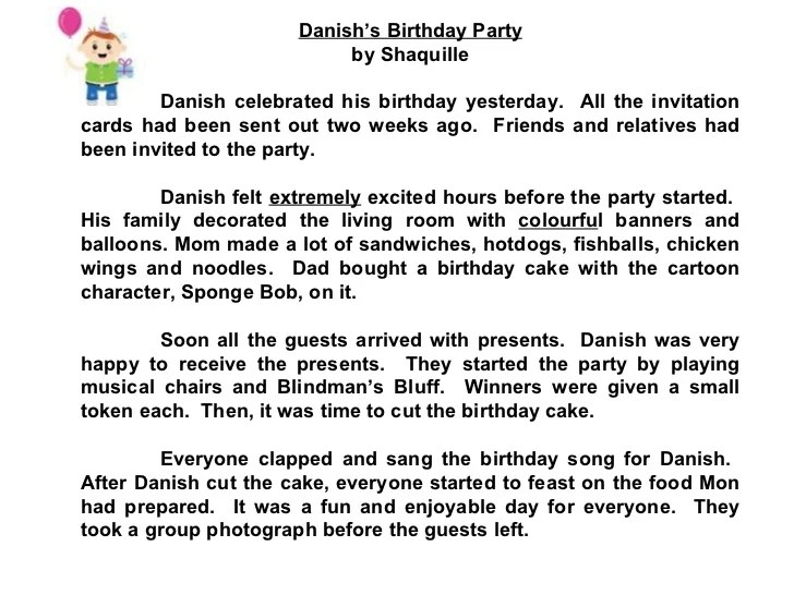 Star Compositions A Birthday Party Check Out The