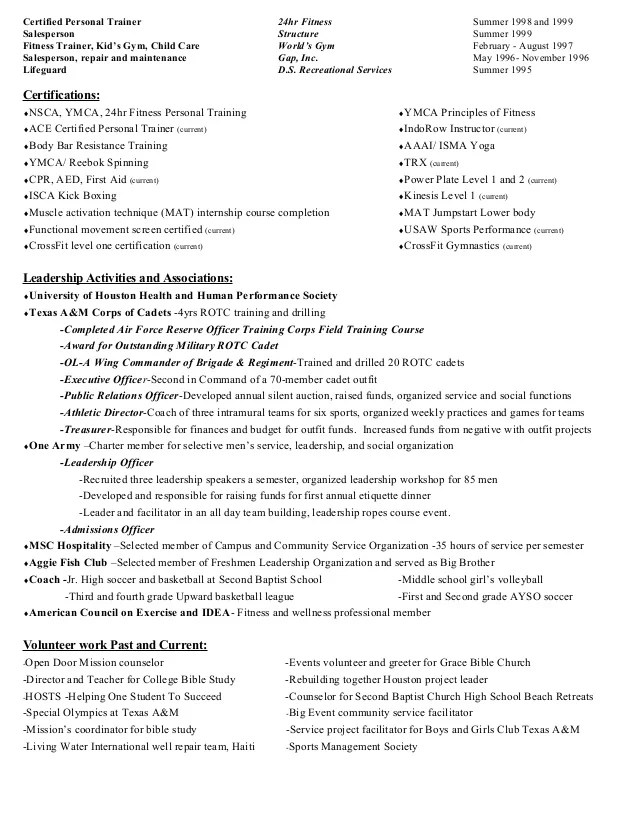 Sample church treasurer resume