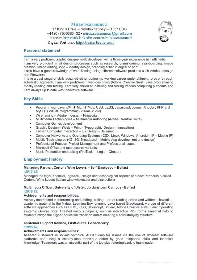 Example Of Good Bartender Resume | Sample Customer Service Resume