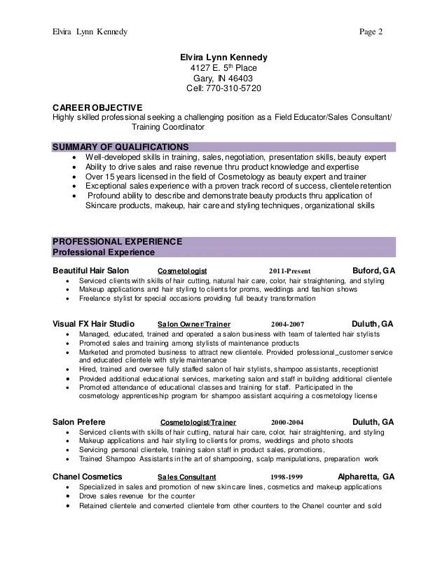 beauty salon receptionist resume - Funfpandroid - shampoo assistant sample resume