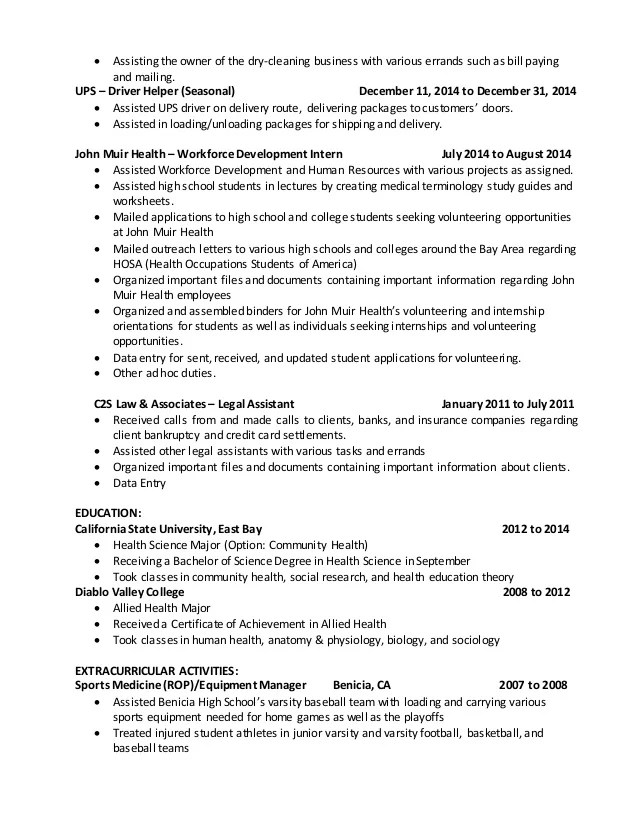 modern biology research sample resume - Intoanysearch