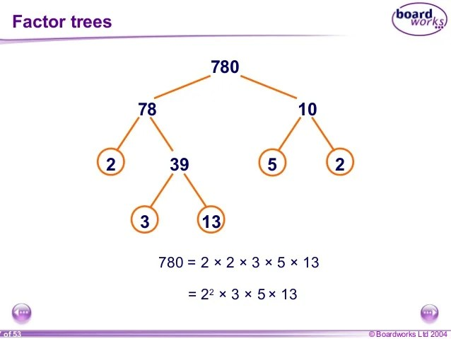 3 Multiples Factors And Primes