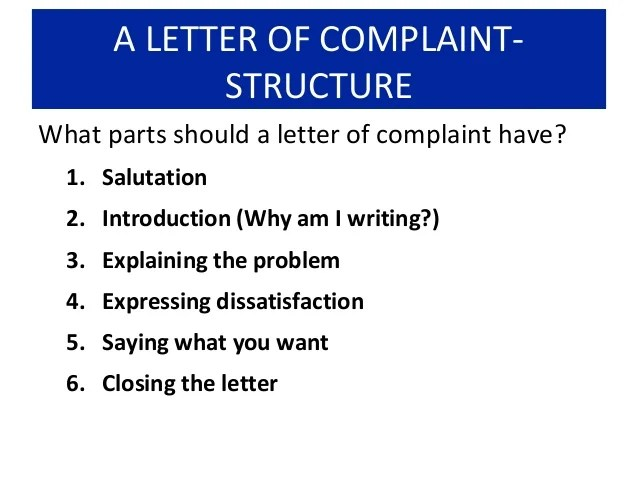 Proper Formal Letter Structure Thoughtco How To Write A Letter Of Complaint