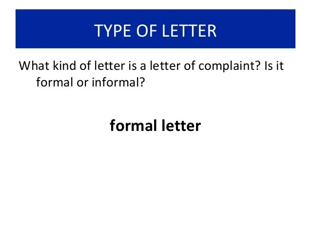 Write A Complaint Letter Accc How To Write A Letter Of Complaint