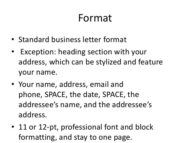 standard business cover letter format - Acurlunamedia - standard business letterhead