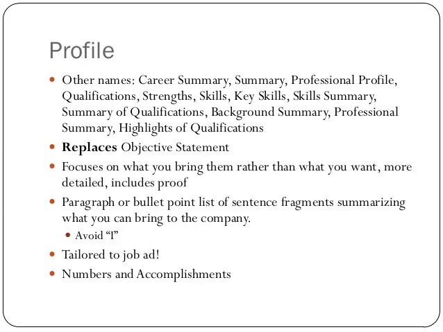 best resume skills list