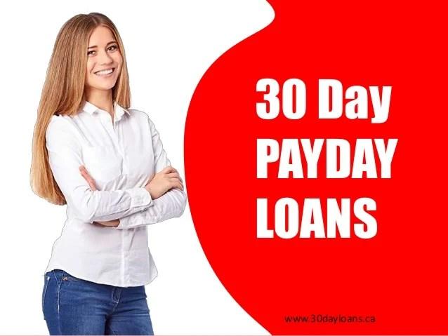 30 Day Payday Loan - Borrow Online