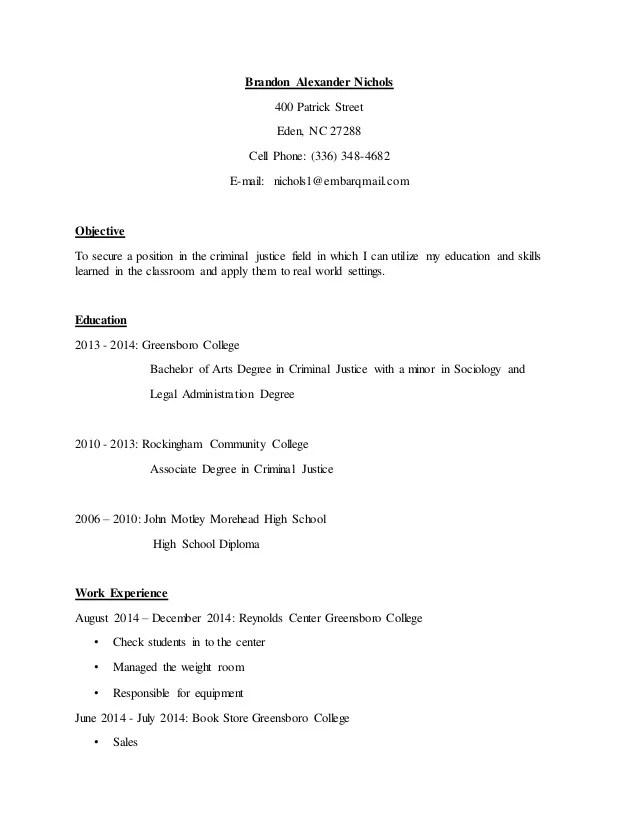 Brandons Resume Updated - Resume Examples   Resume Template