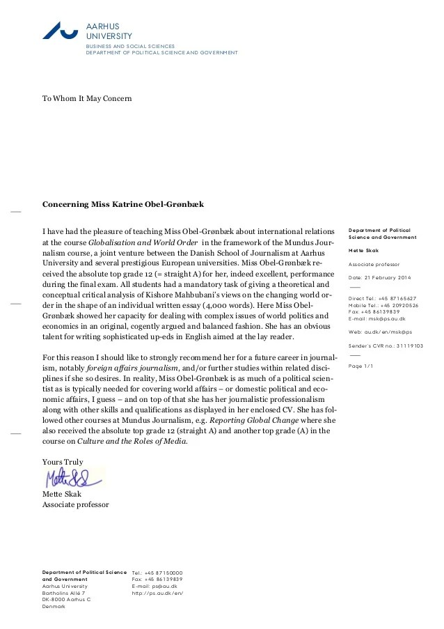 recommendation letter for dental student from professor - Akbagreenw