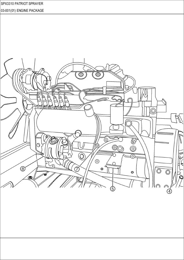case fuel filter j286503