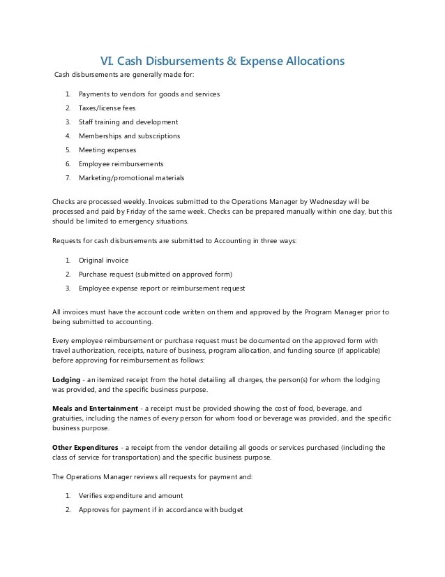 Accounting Policies And Procedures Manual Template Images - Template - sample policy manual template