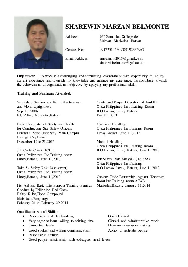 resume update - Towerssconstruction
