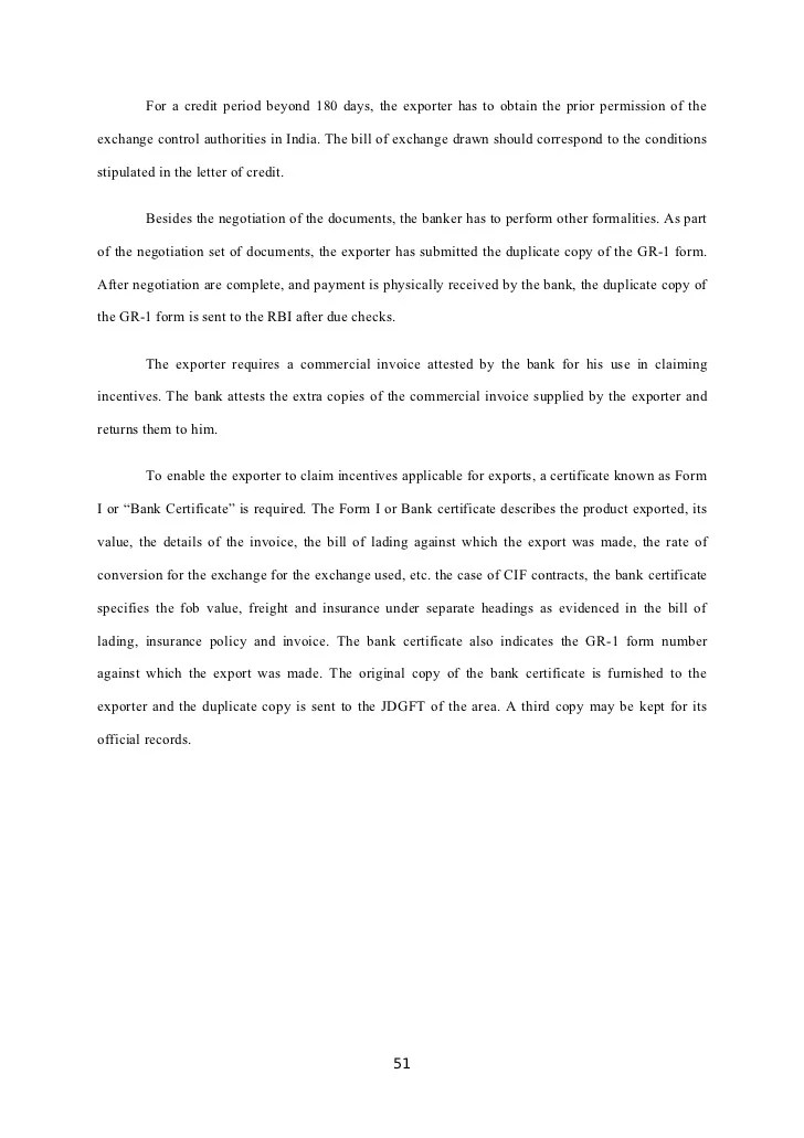 Letter Of Credit Lc Documentry Collection Export Import 36247756 Export Procedure Documentation