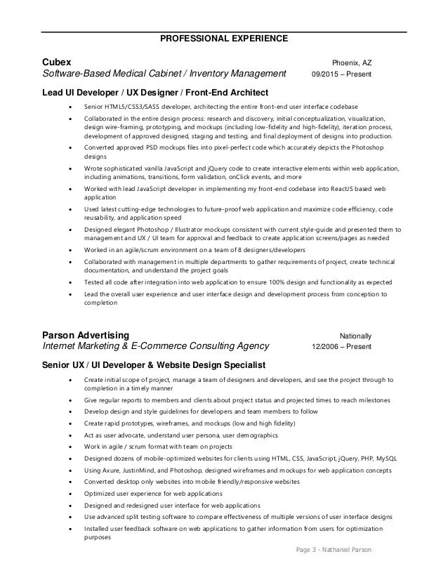 valet parking supervisor resume sample