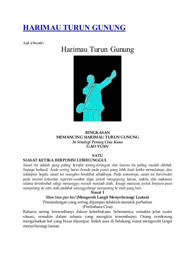Uu Pemerintahan Desa Uu No 23 Tahun 2014 Tentang Pemerintahan Daerah Harimau Turun Gunungaqil Ichsandriharimau Turun
