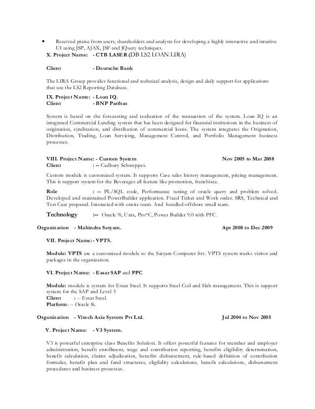 sample resume of big data hadoop developer