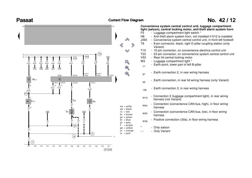 volkswagen transporter wiring diagram