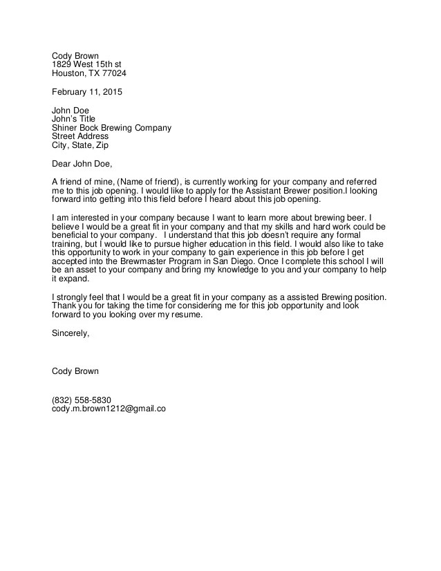 Cover Letter No Name 5 Ways To Write A Cover Letter Wikihow Cover Letter Copy