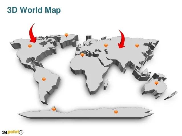 powerpoint world map editable - Vatozatozdevelopment