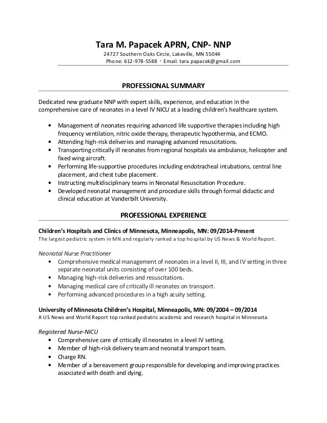 Sample resume for rn labor and delivery - Prenatal Nurse Sample Resume