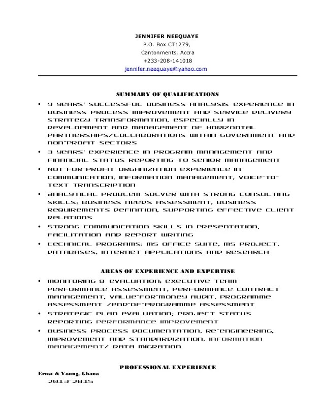 Resume Example Yahoo 19 Reasons Why This Is An Excellent Resume Yahoo Jneequaye Resume Ey Consultant Penultimate Ver 06182015