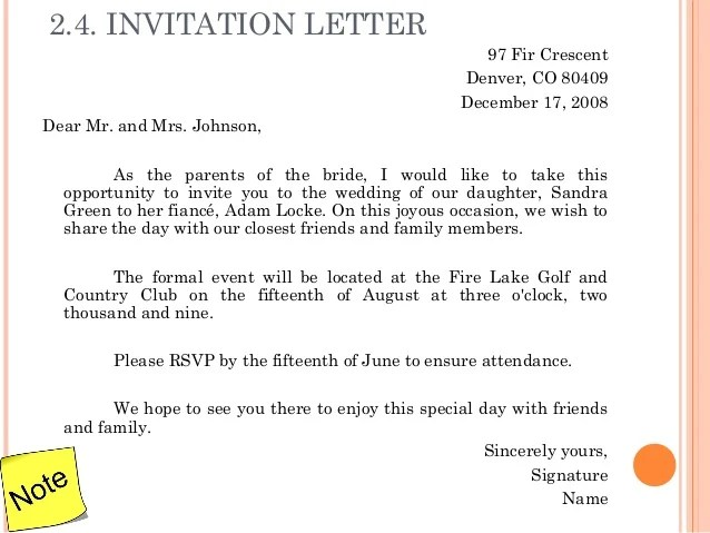 Letter Invitation For Birthday To Friends Professional Resumes - Invitation letter to friend on birthday