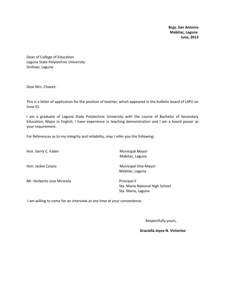 Notifying The School About A Bullying Incident Template Letter 3 Style Application Letter