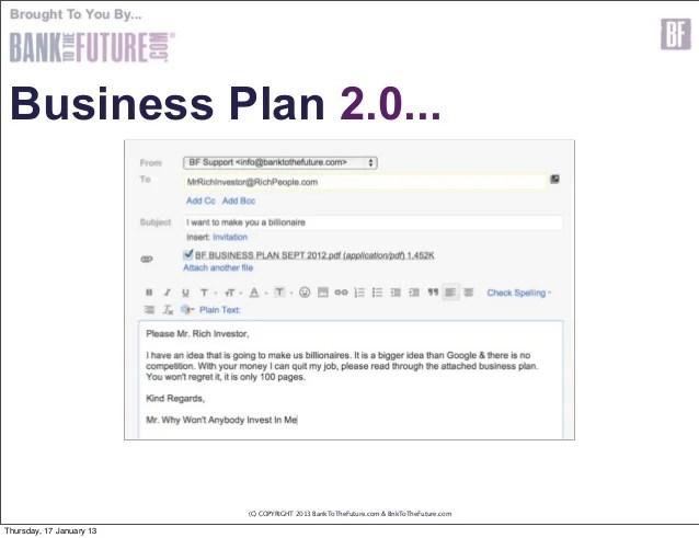 Business Plan Template For Investors Costumepartyrun