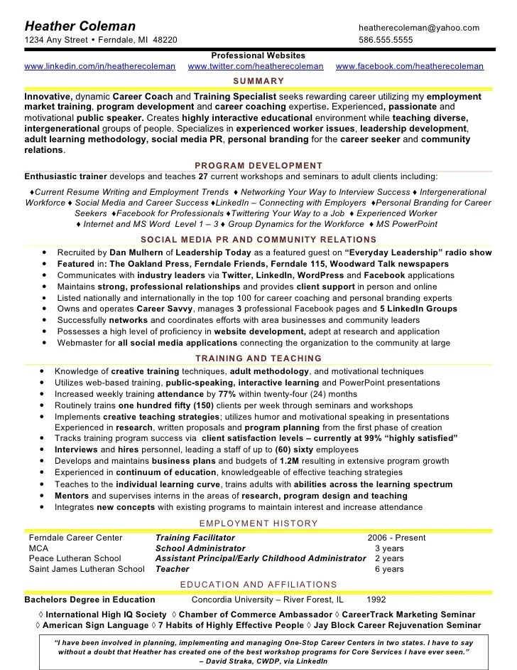 michigan talent bank create resume