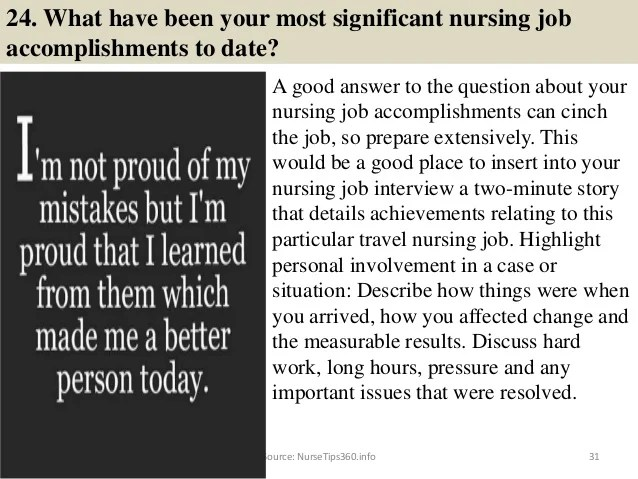 nursing manager interview questions and answer - Josemulinohouse