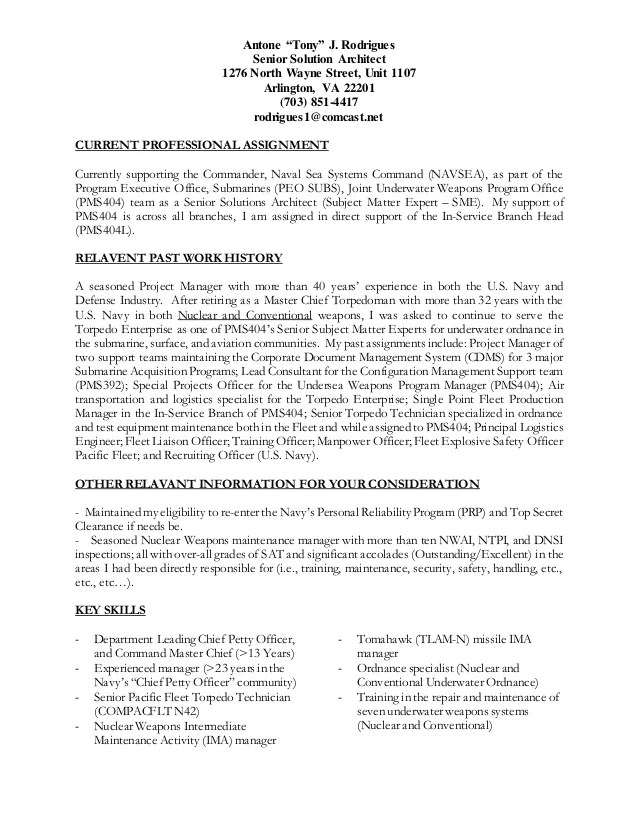 army nco resume examples
